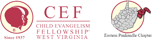 Child Evangelism Fellowship of West Virginia's Eastern Panhandle Logo